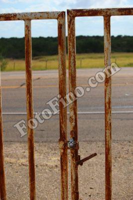 Rusted Gate - FotoFino.com