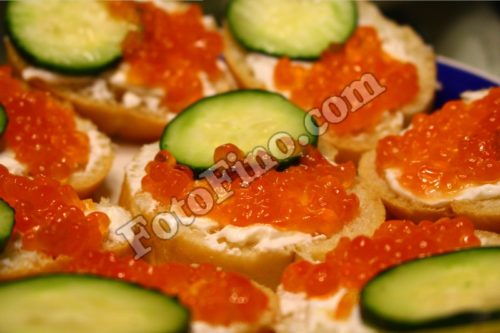 Caviar Appetizers - FotoFino.com