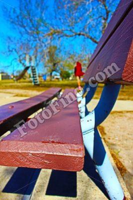 Park Bench - FotoFino.com