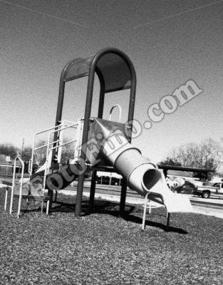 Playground In Black and White - FotoFino.com