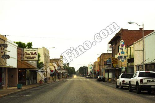 Small Town Main Street - FotoFino.com