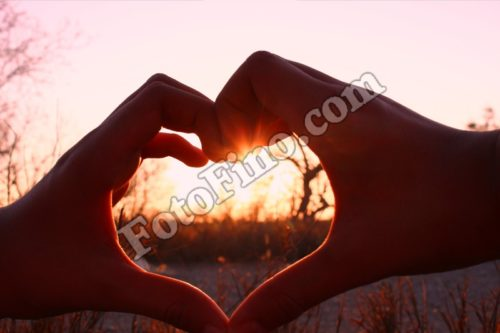 Sunset Heart - FotoFino.com
