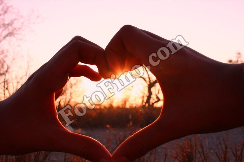 Sunset Heart - FotoFino.com