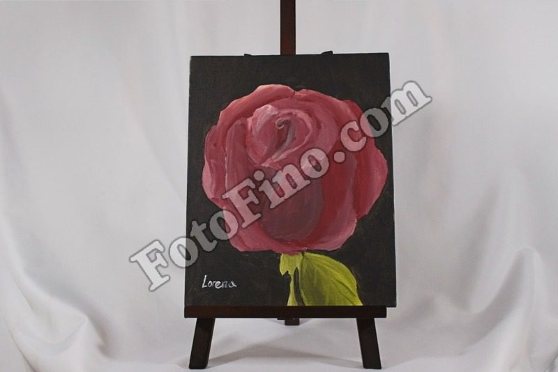 Red-Rose 10in by 8in - FotoFino.com