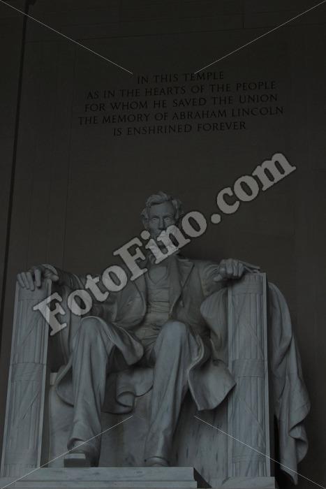 Abraham Lincoln Memorial - FotoFino.com