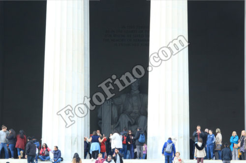 Outside Lincoln Memorial - FotoFino.com