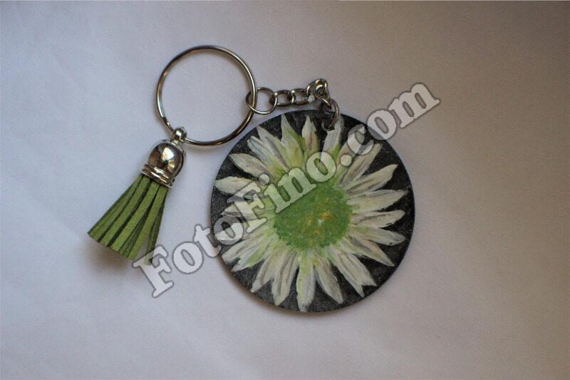 White Sunflower Painting - FotoFino.com